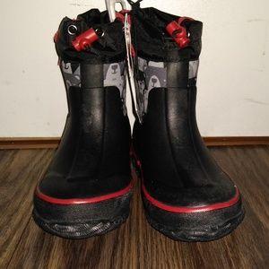 Cat & Jack boys snow boots size 7/8